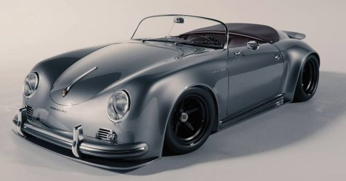 Khyzyl Saleem Thoroughly Modernizes Porsche's Iconic 356A With An RSR-Inspired Concept