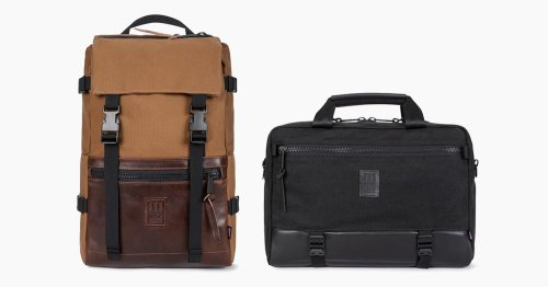 Topo Designs Rereleases Five Of Its Most Revered Bags In Horween & Cotton Canvas Versions