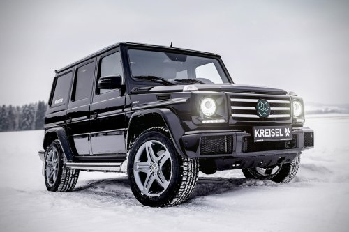 Behold The All-Electric 482HP G-Wagon Built For The Backcountry