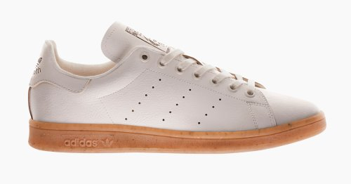 adidas Makes The Stan Smith Even More Sustainable With A Mushroom Leather Construction.