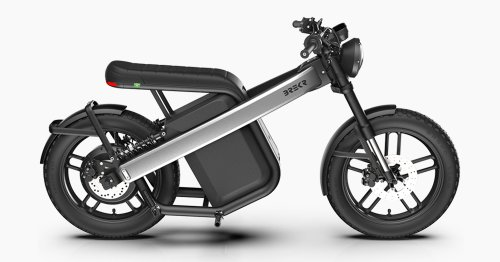 Brekr's Electric Motorcycle Has A Swappable Battery For 150+ Miles Of Travel