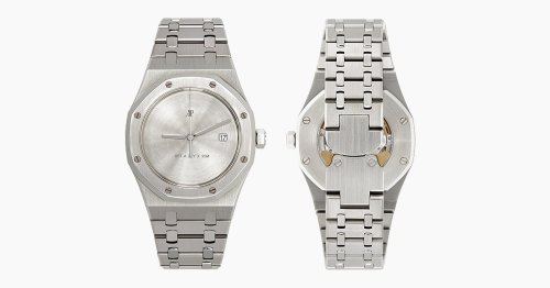 Now's Your Chance To Buy This Ultra Rare Custom Minimalist AP Royal Oak Watch For $81k