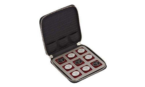 Prada Drops Leather Tic-Tac-Toe Game Set