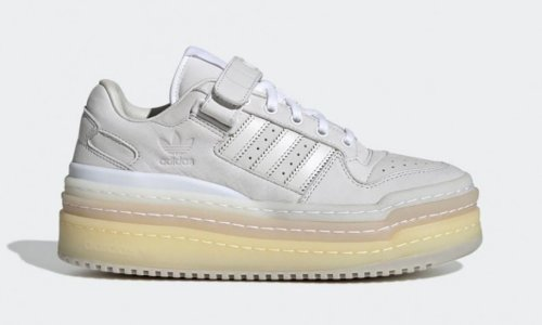 "adidas Triple Platforum Lo ""Crystal White"": Detailed Images & Info"