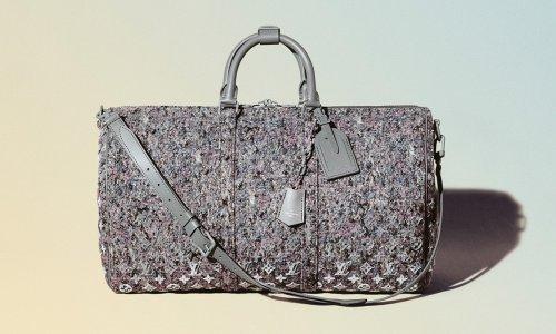 """Louis Vuitton Unveils """"Eco-Felt"""" Line & New Logo"""