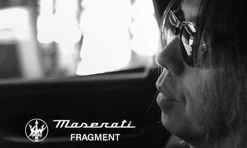 fragment design's Maserati Ghibli Hybrid Collaboration