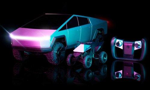 Hot Wheels' Stunningly Accurate Tesla Cybertruck R/C Car