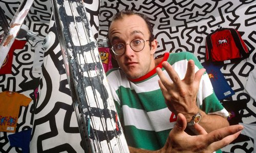 Keith Haring's Fridge Door & Andy Warhol's Moosehead: Auction