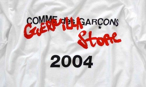 """COMME des GARÇONS Revives """"Guerilla"""" Pop-Up Shops"""