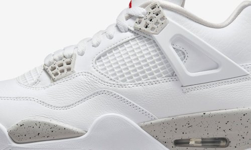 """Nike Air Jordan 4 """"Tech White"""": Official Images & Release Date"""