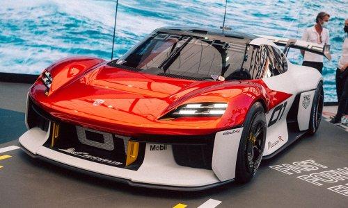 A Day at IAA with Porsche