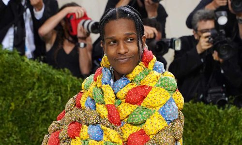 Here's How A$AP Rocky's Quilt Went From Grandma to Gala