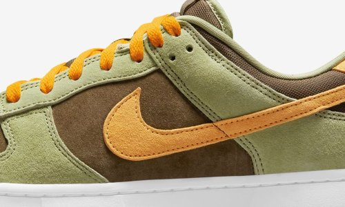 """Nike Dunk Low """"Dusty Olive"""": Official Images & Release Info"""