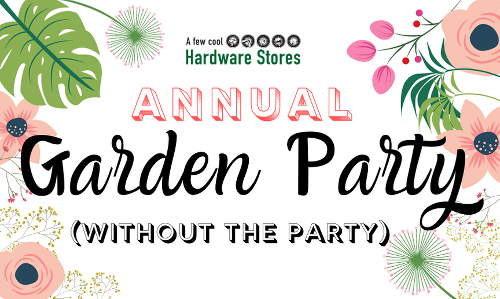 Frager's Garden Party Moves Online