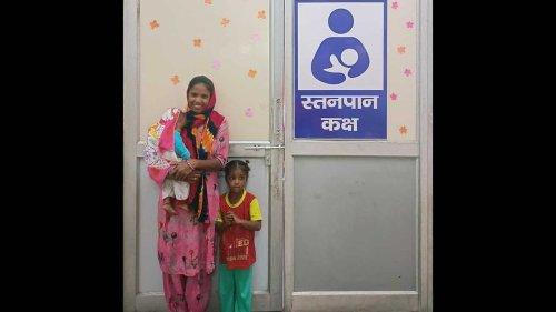 Breastfeeding room at Panipat mini-secretariat a big help for nursing mothers