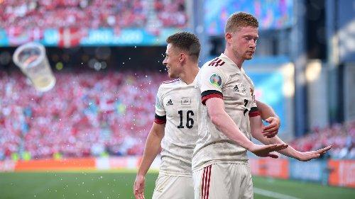 Euro 2020: De Bruyne enters to spare Belgium's blushes against Denmark