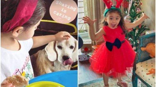 Soha Ali Khan shares cute pic of Inaaya Naumi Kemmu with her pet: 'Sharing is caring', See here