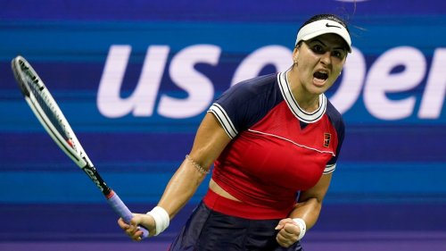 Bianca Andreescu outlasts Golubic at US Open