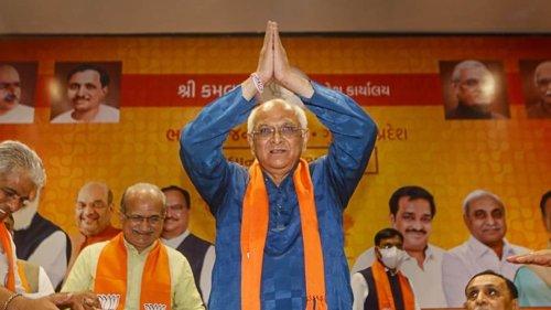 Gujarat CM Bhupendra Patel keeps home ministry, Kanubhai Patel finance minister