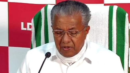 Kerala CM dashes letter to Modi for 300 MT of oxygen in wake of cyclonic storm
