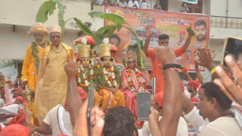 Historic 'Bharat Milap' event in Kashi leaves audience spellbound