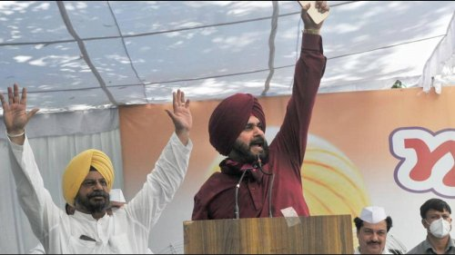 Implementing high command's 18-point agenda key task, says Sidhu