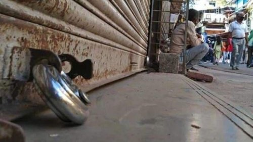 Traders stage protest; Jammu to observe 'bandh' today