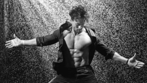 Tiger Shroff unveils his smouldering look from Dabboo Ratnani's 2021 calendar