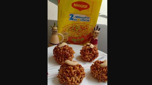 'Maggi laddoo' irks people, pic goes viral. Fancy a bite?
