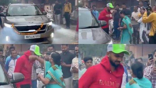 IPL 2021: Ruturaj Gaikwad receive rousing reception at home, CSK share video