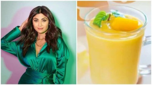 Shilpa Shetty shares her must try recipe for refined sugar-free mango mousse