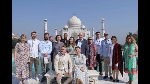 Danish PM visits Taj Mahal, calls it beautiful