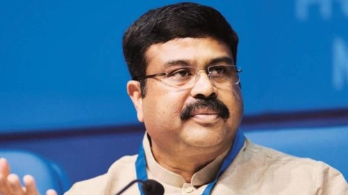 Minister Dharmendra Pradhan now blames Congress for petrol, diesel prices hike