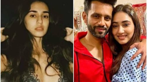 Bigg Boss 14's Rahul Vaidya admires Disha Patani's new pics, but not without praising fiancee Disha Parmar