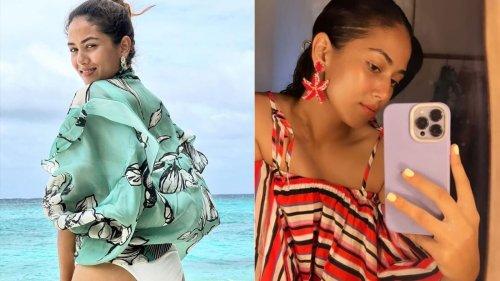 Mira Rajput is a pretty 'beach bum' in a white bikini, shares pic from Maldives