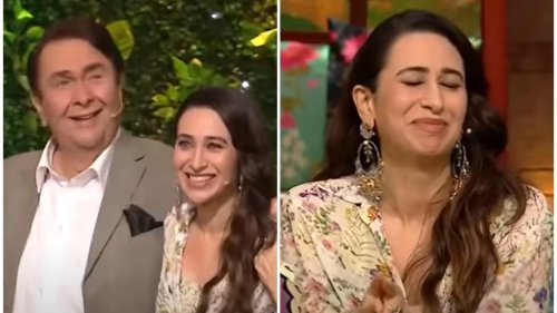 Karisma Kapoor left red-faced as Randhir Kapoor talks about his romantic scenes: 'I really wanted to do it with some'