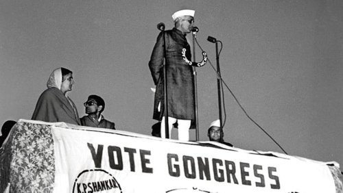 A commitment to the democratic ideals was Nehru's mark on polls