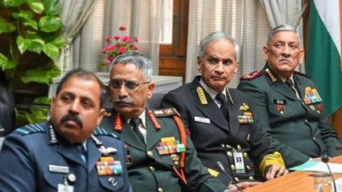 Gen Rawat holds meeting of service chiefs, addresses theatre command concerns
