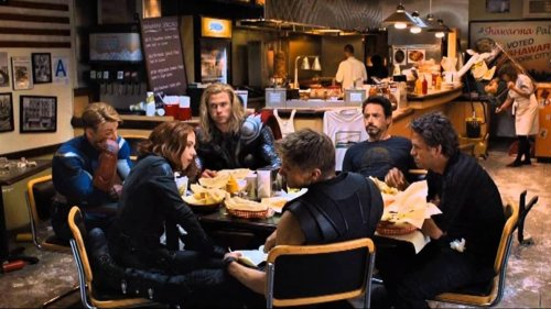 Did you know Avengers' shawarma scene was shot after the film's premiere, partially spoiled by Robert Downey Jr?