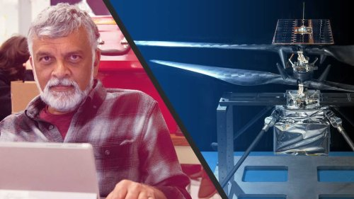 J (Bob) Balaram, meet the chief engineer of Nasa's Ingenuity Mars helicopter