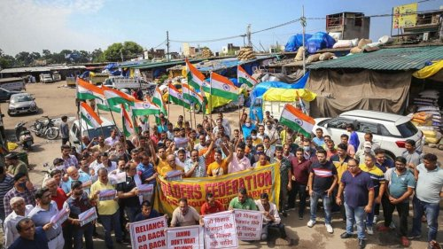 Jammu traders observe peaceful bandh against 100 proposed Reliance retail stores
