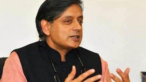 Shashi Tharoor's post on description of bhelpuri goes viral, amuses people