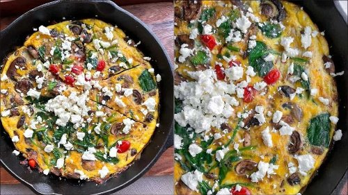 Recipe: Bookmark this Feta and Spinach Frittata for prettiest Easter brunch ever
