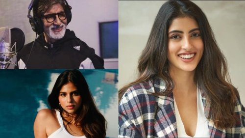 Navya Naveli Nanda makes Amitabh Bachchan 'proud', Suhana Khan calls her 'amazing'