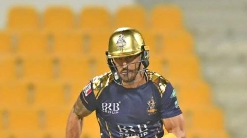 Faf du Plessis ruled out of PSL due to concussion, returning home