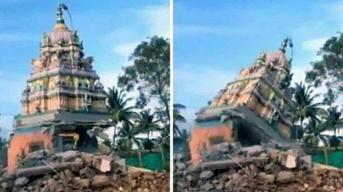 Mahatma was also not spared to protect Hindus, says Hindu Mahasabha leader on temple demolition in Karnataka