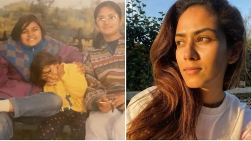 Mira Rajput shares throwback pic with sisters Priya and Noorjehan, a fan says: 'Naughty little girl in yellow'