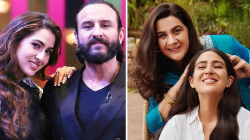 Sara Ali Khan on Saif Ali Khan and Amrita Singh's divorce: 'I don't think they were happy together'