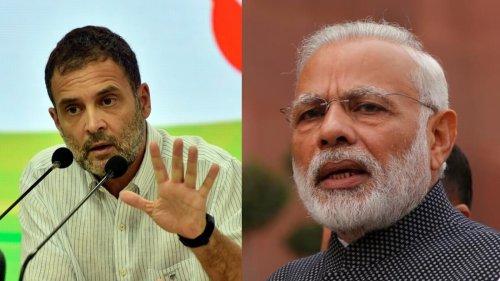 Rahul Gandhi's curt birthday wish for 'Modi ji' as Congress marks 'Unemployment Day'