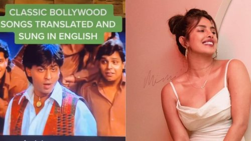 Priyanka Chopra in splits after Jay Sean sings Shah Rukh Khan's Mehndi Laga Ke Rakhna in English, watch